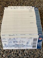 Lot Of (500) 2013 New York Red Bulls MLS Ticket Stub Set