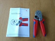KNIPEX 97 52 64 Four-Mandrel Crimping Pliers for turned contacts (180 mm)