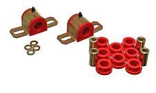 Energy Suspension 3.5205R Sway Bar Bushing Set Rear Polyurethane Red