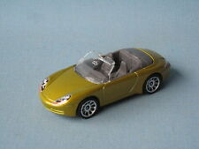 Matchbox Porsche 911 Carrera Cabriolet Gold Body Toy Model German Sports Car