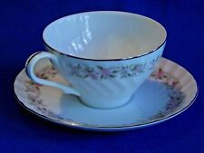 Dansico ~ TEAHOUSE ROSE ~ Lot of 4 Cups & Saucers ~ Fine China Japan