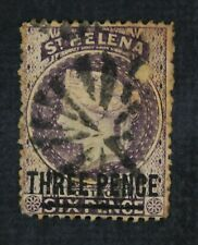 Ckstamps: Gb St. Helena Stamps Collection Scott#14 Used