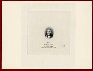 Ecuador 1911 #198, Vignette Die Proof, President Vicente Roca, ABNC