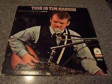 "Tim Hardin ""This is Tim Hardin"" ATLANTIC LP SD 33-210 FOLK-PSYCH-ROCK"