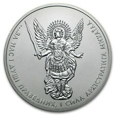 Erzengel Engel Michael 2015 Ukraine 1 oz Hryvna 999 Silber Silbermünze in Kapsel