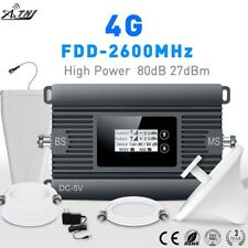 4G Booster 80dB High Gain Repeater 2600MHz Mobile Signal Booster for Europe Asia