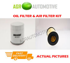 BIO PETROL SERVICE KIT OIL AIR FILTER FOR FORD C-MAX 1.8 125 BHP 2007-10