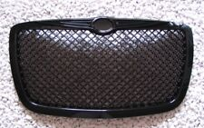 SCHWARZER FRONT GRILL KÜHLERGRILL CHRYSLER 300 300C SPORT, BENTLEY LOOK TOP QT