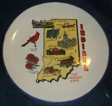 "7"" Indiana Decor Plate - china  (0081)"