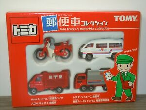 Mail Trucks & Motorbike Collection - Tomica in Box *46519