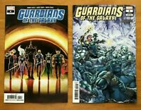 Guardians of the Galaxy 4 2019 David Marquez Main Cover + Tom Raney Variant NM