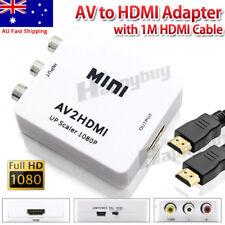 AV2HDMI Composite CVBS 3RCA AV to HDMI Video Upscaling 1080P Converter Adapter