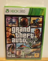 Grand Theft Auto V 5 ( Microsoft Xbox 360, 2013) NEW Factory Sealed