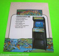 MYSTIC MARATHON By WILLIAMS 1985 ORIGINAL NOS VIDEO ARCADE GAME SALES FLYER