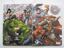 GROUNDWORKS : The MARVEL ART of MARK BROOKS : FULL COLOR COFFEE TABLE HARDBACK