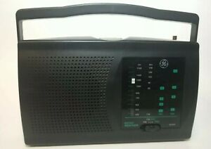 GE Instant Weather Radio Model 7-2946A Thompson AM FM TV Band