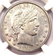 1892-O Barber Half Dollar 50C Coin - Certified NGC Uncirculated Detail (MS UNC)!