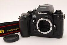[Excellent++++] Nikon F4 35mm SLR Film camera body /w Strap From Japan 616