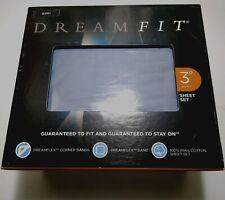 DreamFit 300TC 100% DEGREE 3 Dusk Gray KING SHEET SET