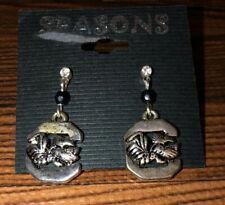 South Carolina Gamecocks Dangle Earrings (Fan Bead)