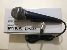 M518A UHER Dynamic cardioid microphone UHER M 518 A made in Germany