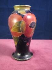 Rare Antique Moorcroft Pottery  Miniature Vase  William Moorcroft  Pomegranate