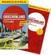 !! Griechenland Festland 2013 UNGELESEN  Athen Peloponnes + Karte Marco Polo
