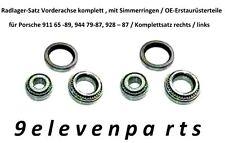 Radlager Satz VA komplett Porsche 911 65-89, 944 79-87,928-87, OE-Erst., re / li