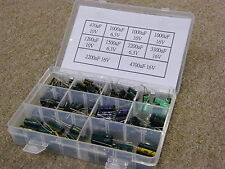 10 value Motherboard Capacitor 130pcs Exquisite Box Kit