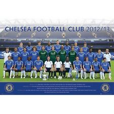 Chelsea FC 2012-2013 Team Squad Poster English Premier League new Blues Soccer