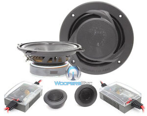 """15-PRS5V2 MEMPHIS 5.25"""" NEW 2-WAY COMPONENT SPEAKERS MIDS TWEETERS CROSSOVERS"""