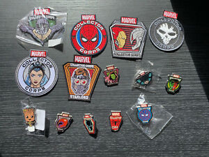Marvel Collector Corps Patches & Badges/Pins