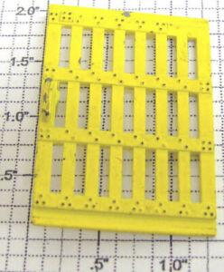 Lionel 6656-5 Yellow Metal Door