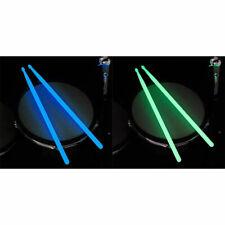 1 Paar 5A Luminous Drum Sticks Drum Set Fluoreszierende Drumsticks leuchten iBOD
