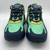 Nike Air Max 270 React Electro Green/Yellow Ochre-Obsidian AO4971-300 9.5 11-13