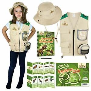 Kids Explorer Costume Kit including Safari Vest and hat