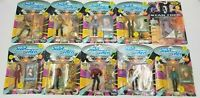 Playmates Star Trek Next Generation/GENERATIONS Vintage Action Figures Lot of 10