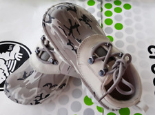 44a6237b7 CROCS AXLE CAMO ALL TERRAIN BOAT WATERPROOF SHOE~Gray White~Junior 3   W
