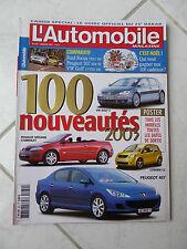 Magazine L'Automobile 680 Hummer H2 Ford Focus VW Golf Peugeot 307 CLK 270 CDi