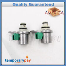 OEM 2PCS 4F27E Transmission Shift Solenoid Set Kit Tested For Ford Focus Mazda