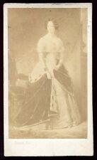 cdv Franck . L'Impératrice Joséphine en manteau d'Hermine  carte de visite