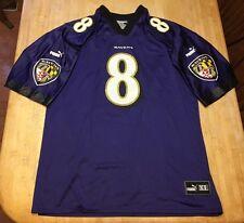 RARE Mens Vintage Baltimore Ravens Trent Dilfer PUMA Jersey XL