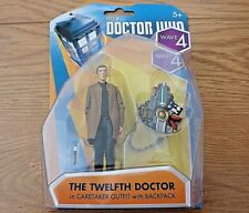 """Doctor Who The 12th Twelfth Doctor in CARETAKER OUTFIT 3.75"""" Figure Boxed Sealed"""