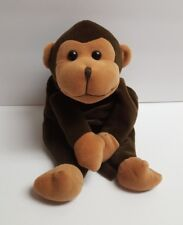 GMA Access Inc 14 Inch Dark Brown Monkey Stuffed with Poly Pellets