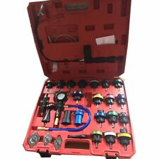 28Pc Pneumatic Vacuum Radiator Coolant Pressure Cooling System Tester Kit Ch