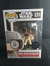Funko Pop Vinyl - Young Anakin Skywalker - Pod Racer Star Wars Exclusive - #231