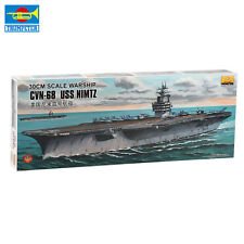 MiniHobby 80903 30Cm Cvn-68 Uss Nimitz Aircraft Carrier Model Kit With Motor