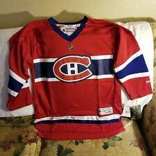 MONTREAL CANADIENS JERSEY - YOUTH L/XL - THROWBACK - REEBOK - NWT