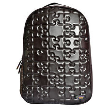 Urban Junk - Puzzle Brown 3rd Dimension Embossed Rucksack/Backpack