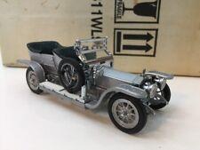 Franklin Mint 1/43 Scale Diecast B11WL96 - 1907 Rolls Royce Silver Ghost Silver